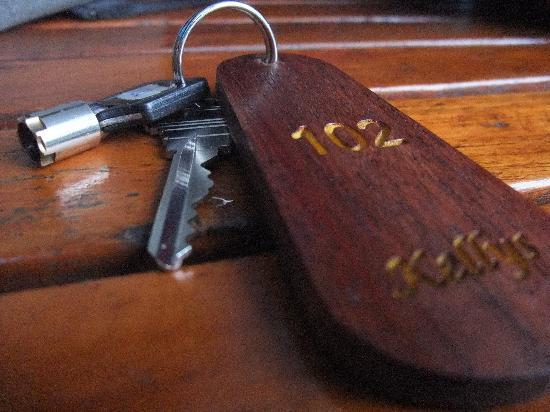 Kelly's Residency: Room & safe box keys