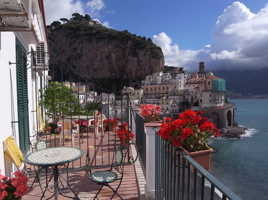 La Scogliera: Amazing view from the private terrace