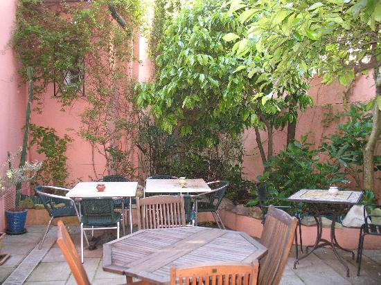 Hotel Maria Christina : le patio