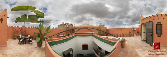 Riad Dar Dialkoum: 2nd roof terrace