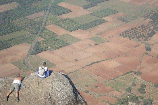 Thekkady, India: Ausichts Punkt nahe Kumily