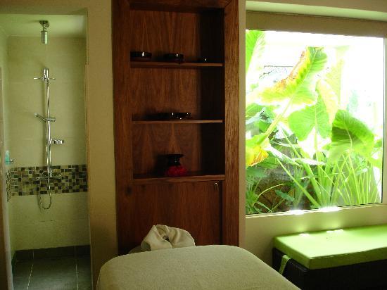 Tamassa Resort: un des salons de massage