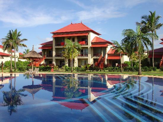 Tamassa Resort: pavillon dans lequel se trouvait ma chambre