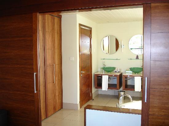 Tamassa Resort: salle de bains