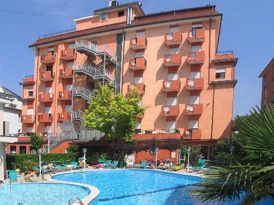 Hotel Piccadilly: Vista dalla piscina