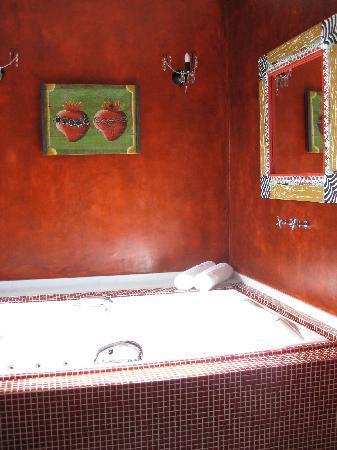 DPNY Beach Hotel & Spa: private jacuzzi