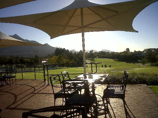 Fancourt: outdoor restaurant