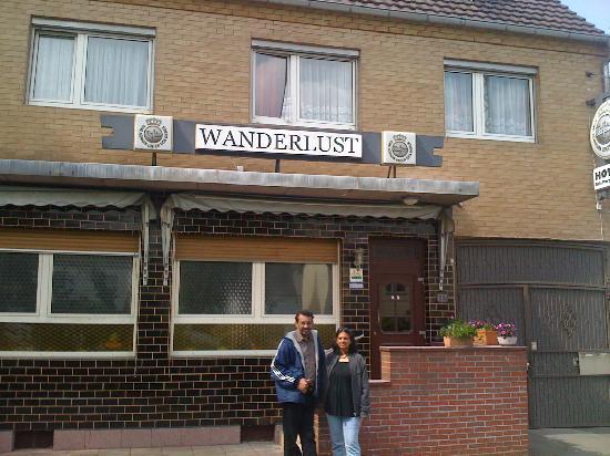 Wanderlust Hostel: Rhe hostel view