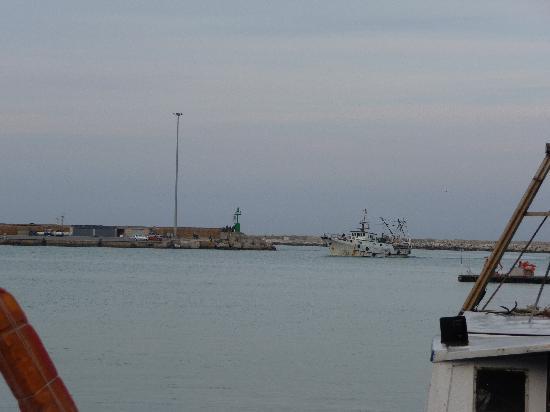 San Benedetto del Tronto, Italia: rientro al porto