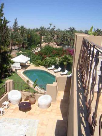 Dar Selwan Wellness & Spa : Roof and pool