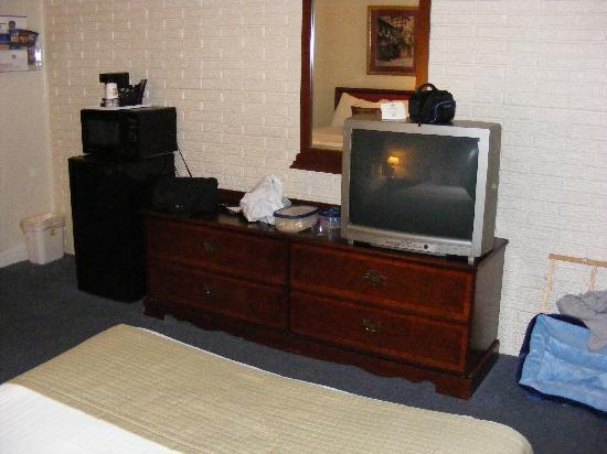 Best Western Hendersonville Inn: TV, Fridge, Microwave..nice to have