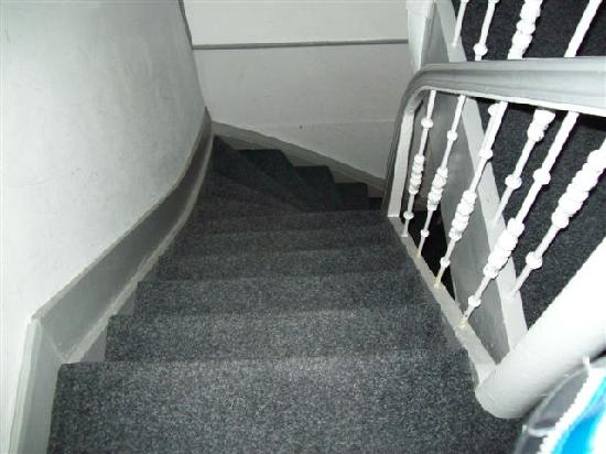 Eve's Guesthouse: Very narrow stairs leading to rooms