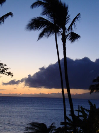 Lahaina, HI: Maui sunset, beautiful every night