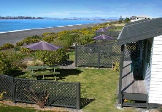 Napier Beach Kiwi Holiday Park and Motels: Beach Front Self Contained Units