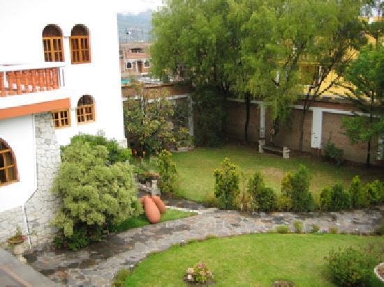 San Sebastian Hotel Boutique: hotel gardens