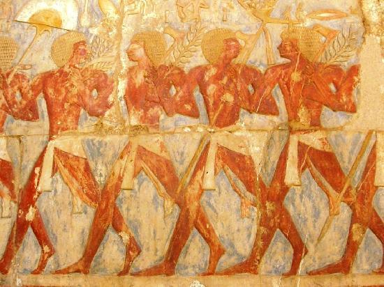 Gizeh, Ägypten: Hyroglyphics