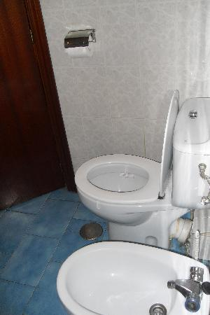Hostal Continental : toilet