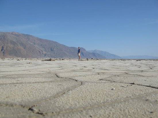Death Valley National Park, Californië: salt