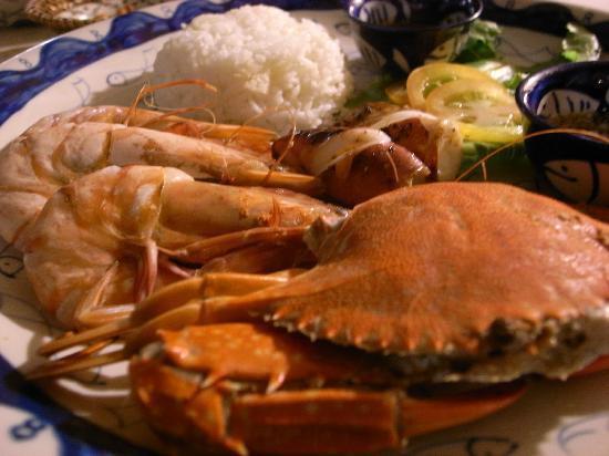 Knai Bang Chatt: food we ate at the Sailing club