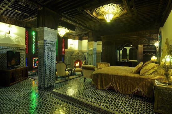 Riad Salam Fes: suite royale