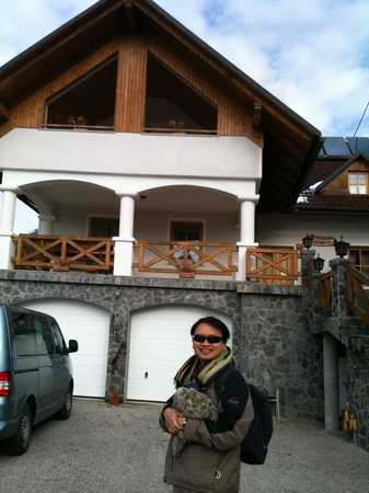 Tourist farm Majercek : Standing in front of the farm house