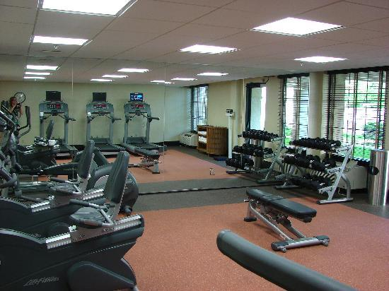 DoubleTree by Hilton Hotel Baltimore - BWI Airport: 24 hour Fitness Center