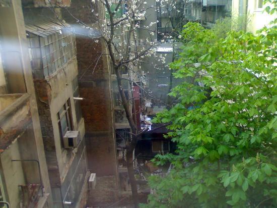 Eterno Hotel: cortile interno