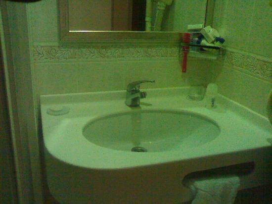 Eterno Hotel: lavabo