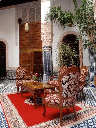 Riad Myra: Courtyard