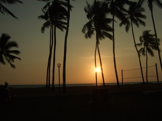 Waikkal, Sri Lanka: Sunset