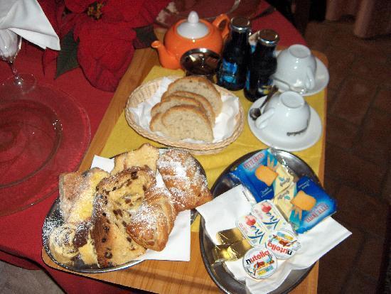 Il Paradiso del Re: colazione