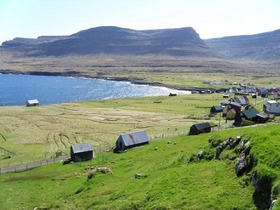 Ilhas Feroe: Svinoy Village and Island, Faroe Islands