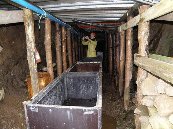 Isole Fær Øer: Coalmine in Hvalba, Suduroy, Faroe Islands