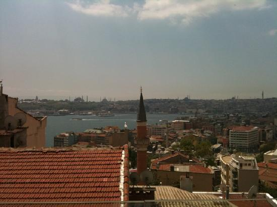 Witt Istanbul Suites: View from the balcony