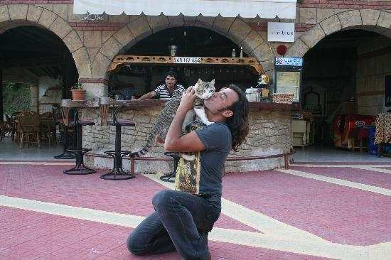 Manzara : Ahmet and his lovely cat