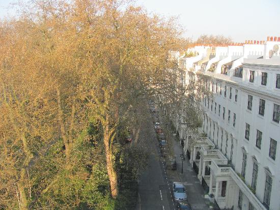Two Hyde Park  Square Apartments: View out Kitchen Window #64