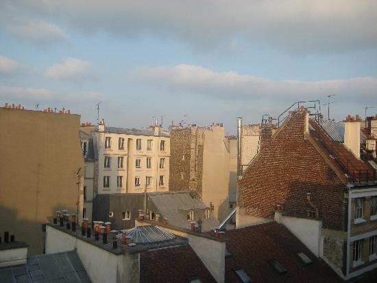 Hotel de Nevers Paris 11e: view from our window