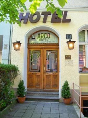 Arco Hotel : Hotel entrance
