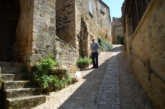 Beynac-et-Cazenac, Francja: The walk to the Chateau