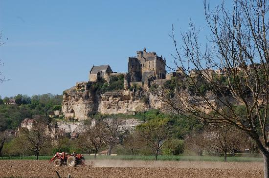 Beynac-et-Cazenac, França: Just *how would you attack this castle?