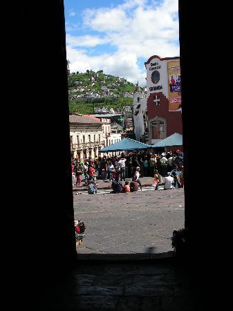 Hostal Mia Leticia: window view