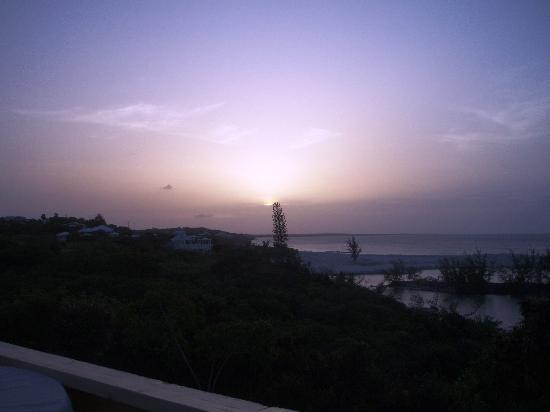 West Bay Club: sunset