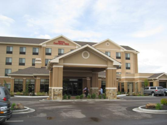 Twin Falls, ID: Front of hotel