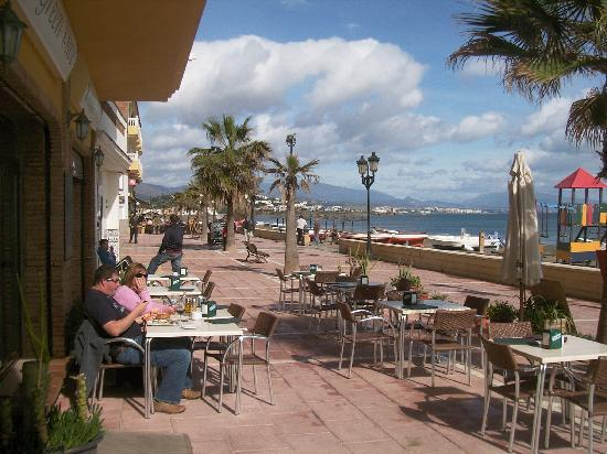 San Luis de Sabinillas, Spain: Terrace