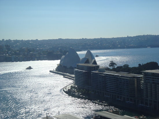 Sydney Harbour Marriott Hotel at Circular Quay: View from the room