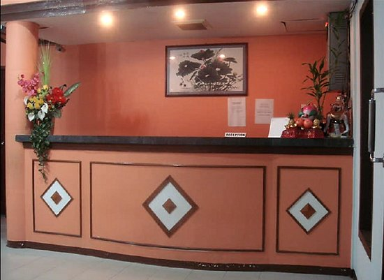 Natuna Island, Indonesien: Front Desk