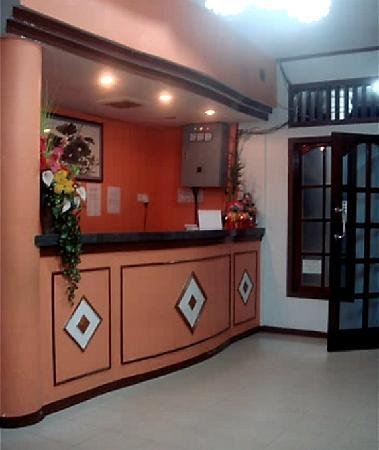 Natuna Island, Indonesien: Front Desk (Side)