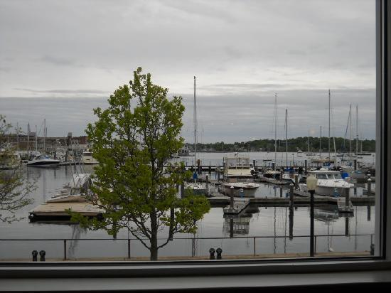 MainSail: the view from the restaurant window