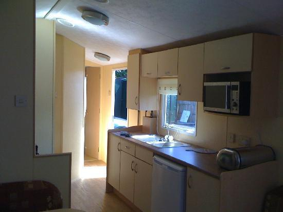Rhyl, UK: Kitchen Area - Marina 2 Caravan
