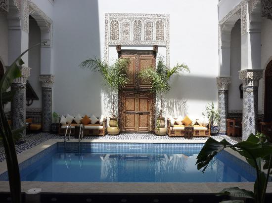 Riad el Amine Fes : La piscine